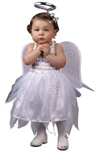28.88 This Toddler Angel Costume includes the dress and the wings. Halo available separately.