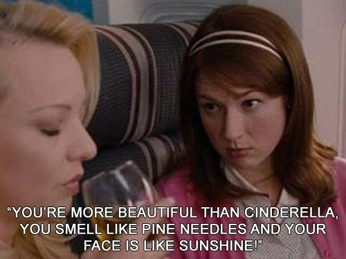 : Funny Movie, Pep Talk, Bridesmaid, Movie Quotes, So Funny, Favorite Movie, Pine Needle, Brides Maid, Best Quotes