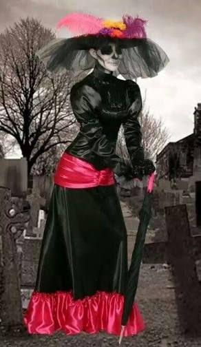 Vestido dia de los muertos