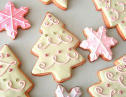 prettiest holiday cookies!