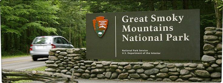 The Great Smokey Mountains in Gatlinburg, TN