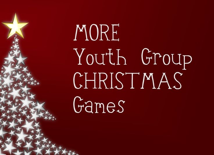 748 best Youth at Christmas images on Pinterest | Holiday games ...