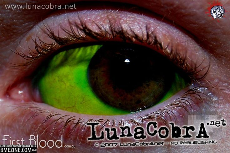 sclera tattoo