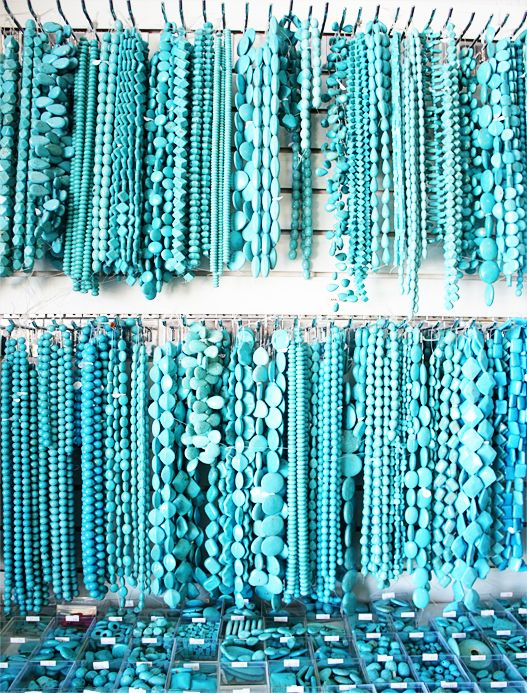 Turquoise • The birthstone of December is turquoise.