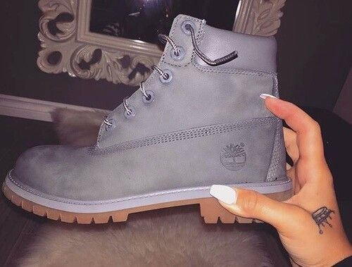 ➖ - Women's Fashion - Footwear - Grey Timberlands #timberlands