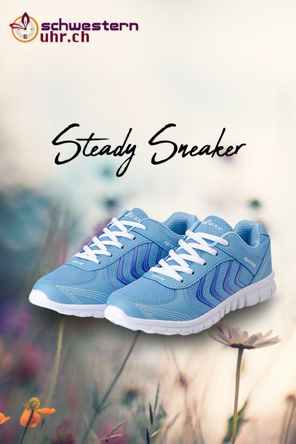 SteadySneaker Blau Turnschuh in 2020 | Blaue turnschuhe