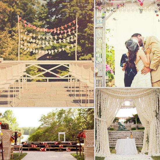 Country Wedding Altars: 25+ Best Ideas About Outdoor Wedding Altars On Pinterest