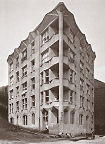 Josef Chocol, Apartment Building inspired by Cubism, Prague, 1913
