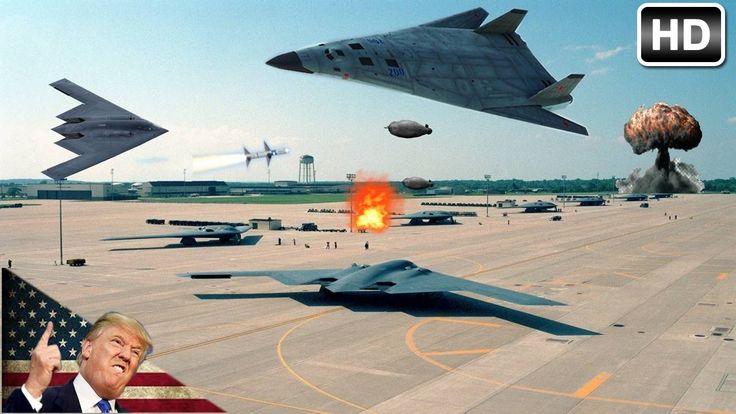 Russia Pak Da Stealth Bomber Vs US Stealth Bomber [1080p]