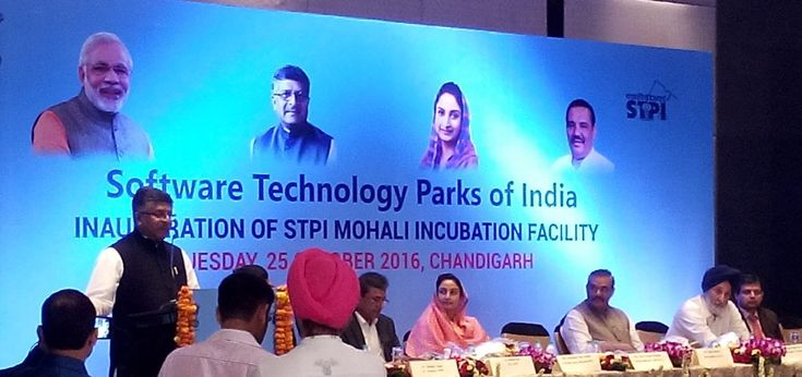 #MegriSoft Limited attended the inauguration ceremony of #STPIs  new #incubation #facility in Mohali on Tuesday, 25th October 2016 at Hotel JW Marriott, #Chandigarh. Number of corporate groups, news and media, startups and academicians were available during the event.