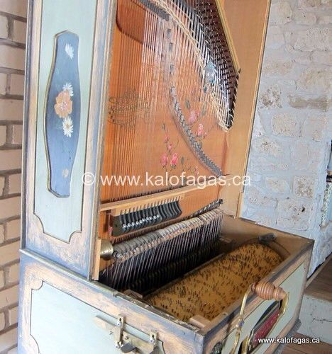 Laterna. Greek mechanical instrument.