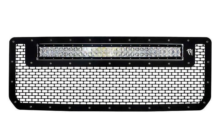 """Rigid Rigid 2015 GMC 2500/3500 Grille w/30"""" RDS LED Light bar [41584]"""