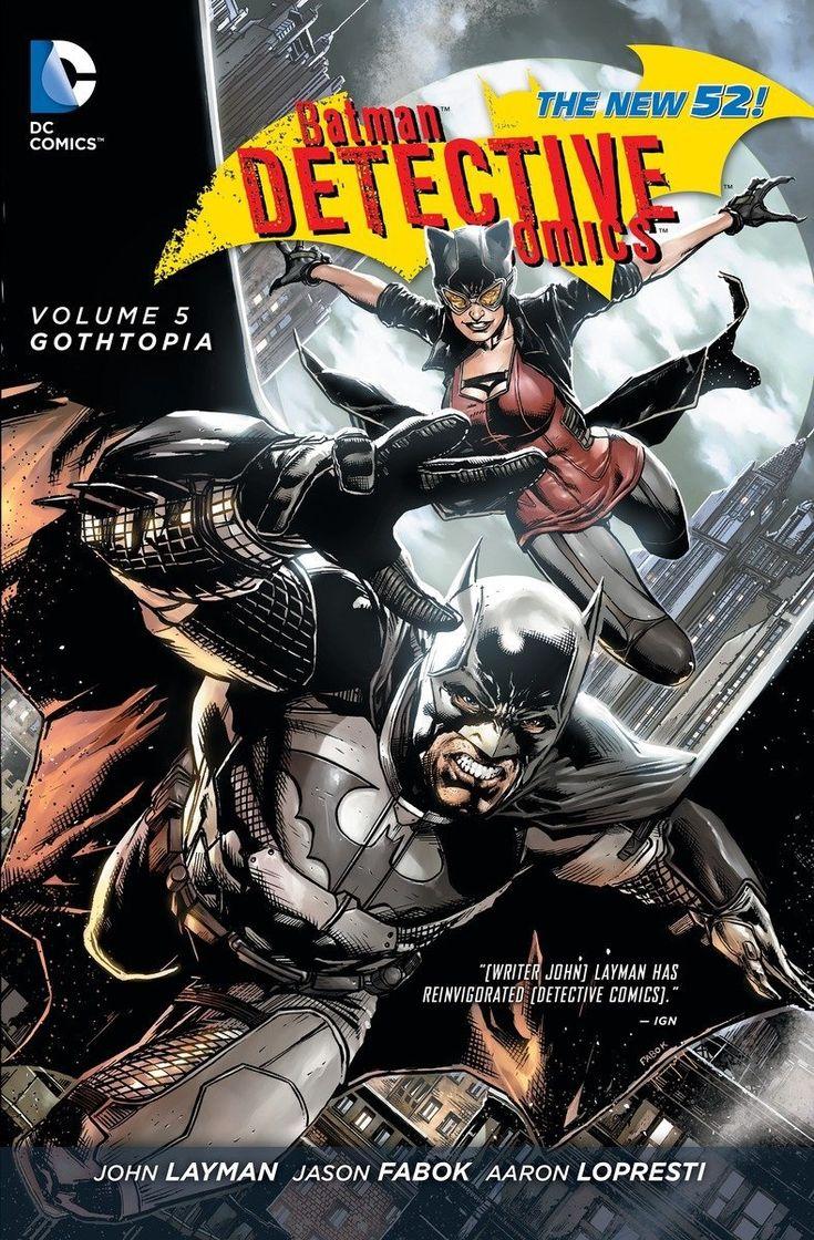 Review Detective Comics Vol. 5 Gothtopia ComicBookWire