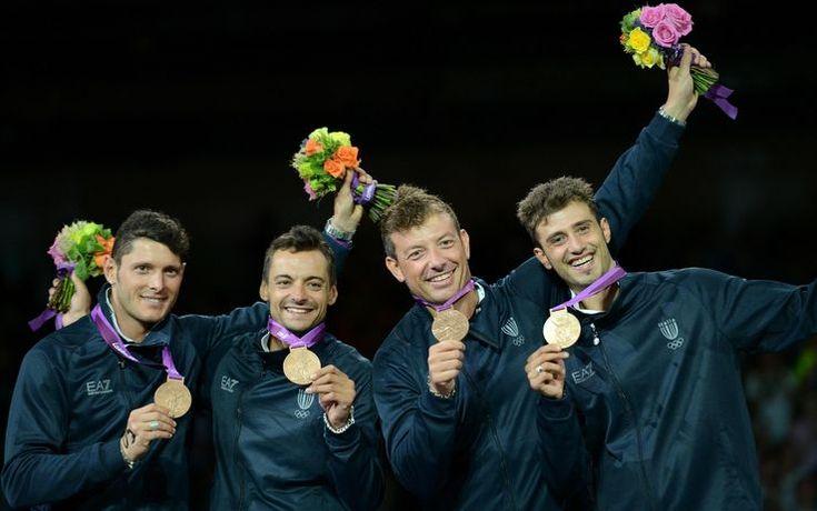 Sciabola a squadre: bronzo per l'Italia