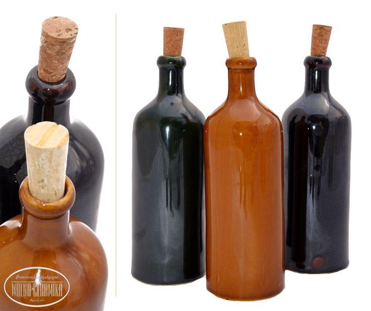 Decorative bottles.