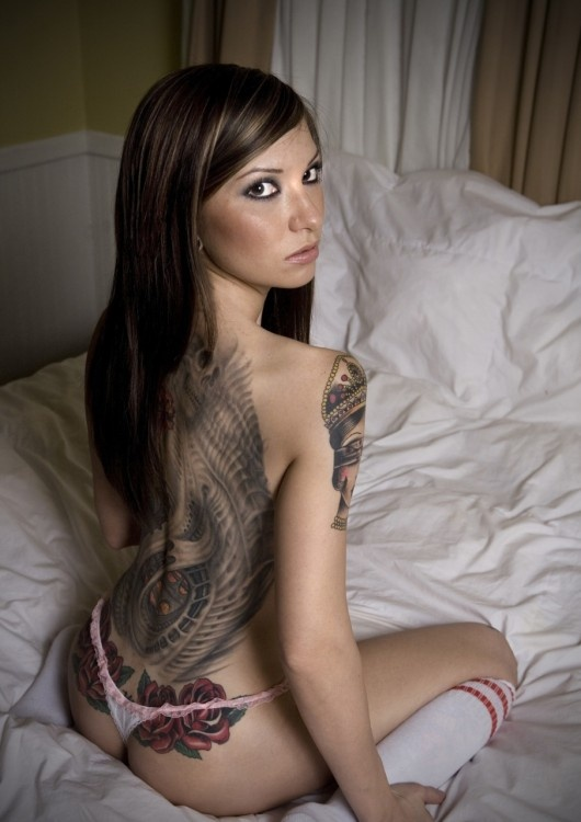 Tattoo Galleries Of Nude Women 25