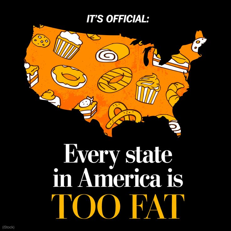 It's official: Every state in America is too fat!  Time for intervention!