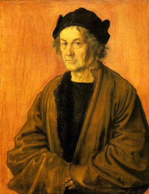 Альбрехт Дюрер - Отец Альбрехта Дюрера (1497)