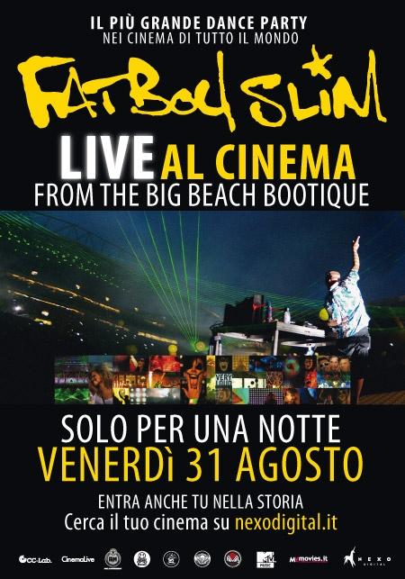 FATBOY SLIM  AL CINEMA