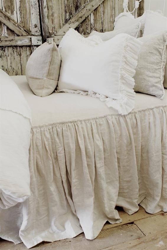 Vintage Ruffle Coverlet from Full Bloom Cottage