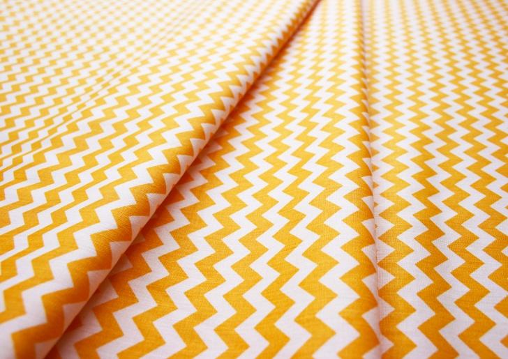 Fabric Finders #1409 Gold Chevron