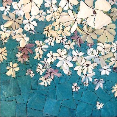 mosaïque de Michelle Combeau