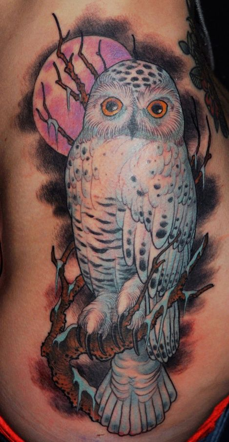 snow Owl Tattoos | The owl tattoo from snowy river. | Tattoos