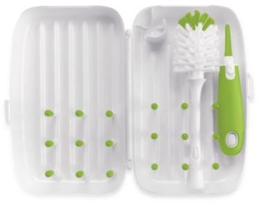 oxo tot OXO Tot® On-the-Go Drying Rack with Bottle Brush in Green