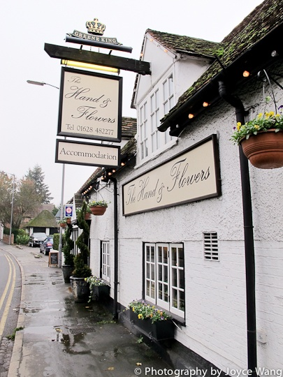 The Hand & Flowers, Marlow, Buckinghamshire - UK's only 2 Michelin starred pub - No way did I just find this!!!