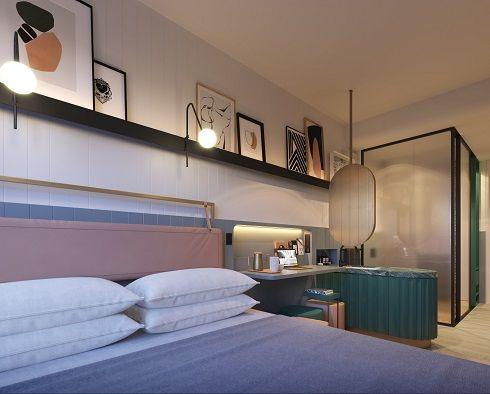 Fifteen - Concept Design for Micro Hotel Room, Scott Carver