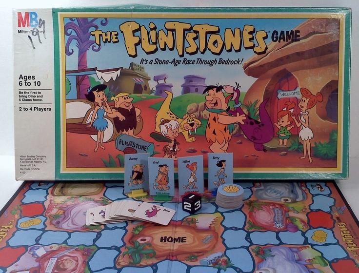 flintstones game milton bradley 1991