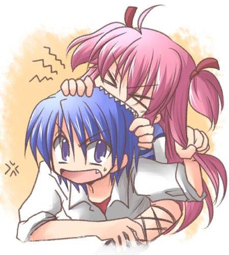 Yui And Hinata Angel Beats Hinata x Yui - Angel B...