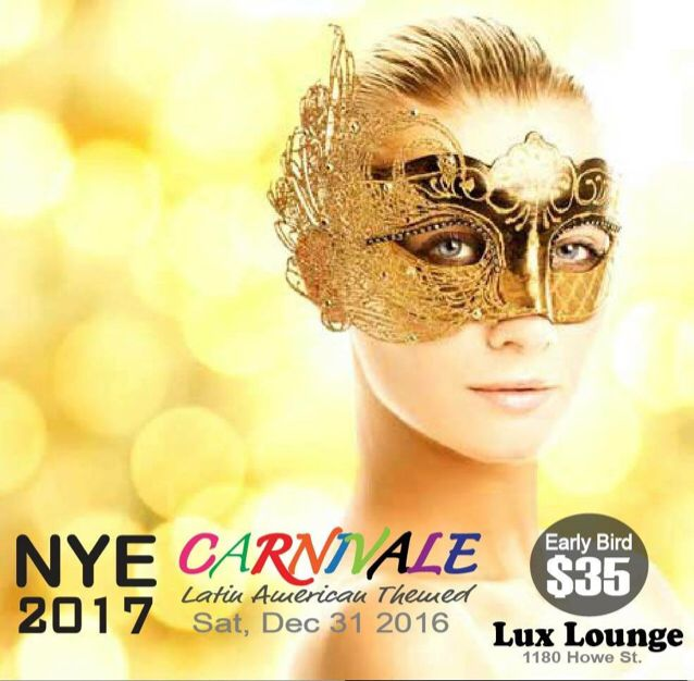 New Year Party '17 Tickets  — Here is the link to buy the tickets www.vancouverlatinfever.com Or call us for group discounts 604.722.1559 or 778.891.7644 Don't miss this NYE 2017 ..!!