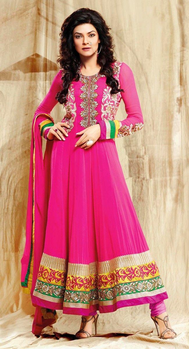 Mesmerizing Pink Salwar Kameez