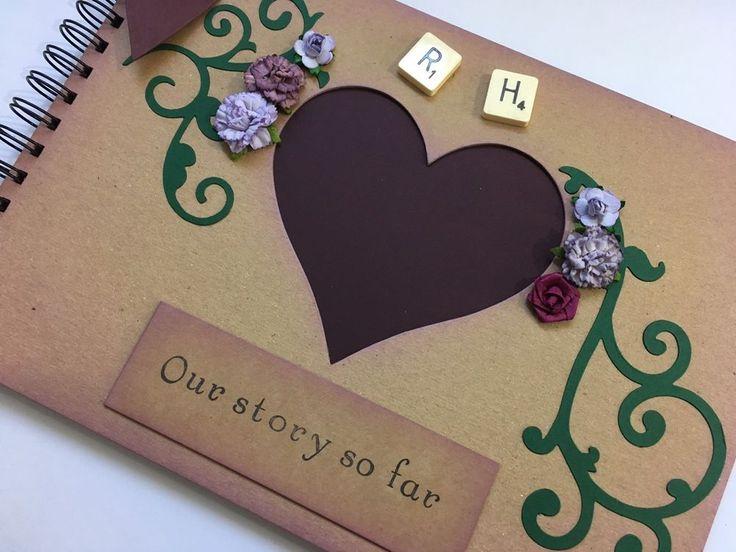 Personalised Scrapbook Album Couples Wedding Anniversary Memory Book Gift Idea  | eBay