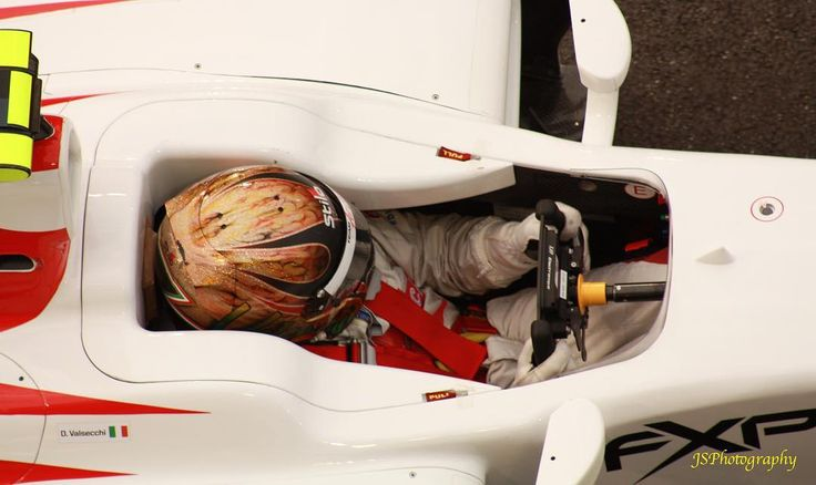 #gp2 #davidevalsecchi #barwaaddax #motorsport #racing #yasmarinacircuit #driver