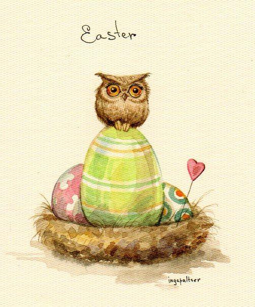 Owls by Inga Paltser on deviantART