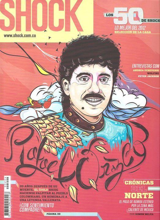 Revista Shock Magazine www.shock.com.co (Rafael Orozco)