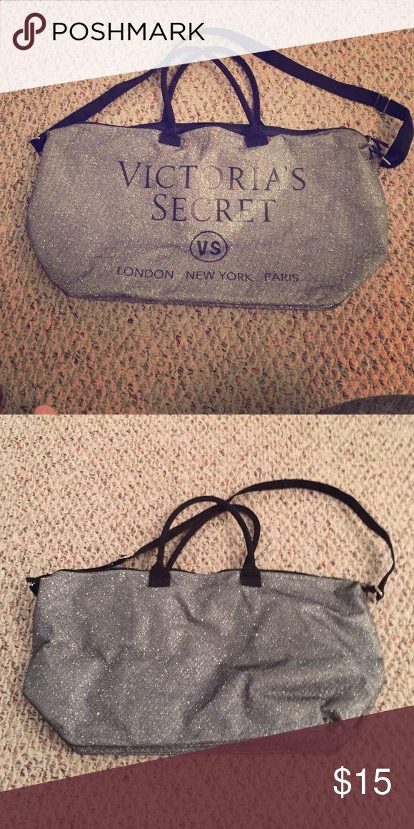 Victoria Secret over the shoulder sparkly bag. Big Victoria Secret sparkly bag. Victoria's Secret Bags Shoulder Bags