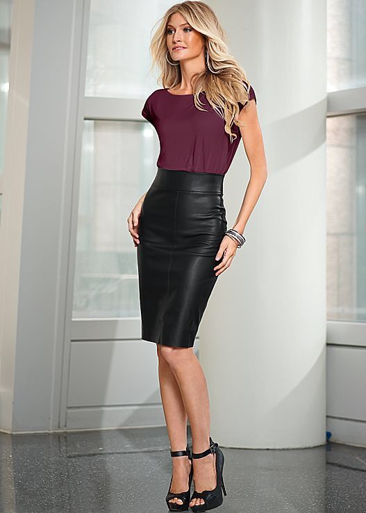 416 best leather skirts images on skirts