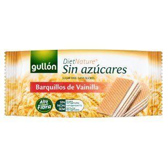 Gullón diabetikus vanília ízesítésű töltött nápolyi édesítőszerrel