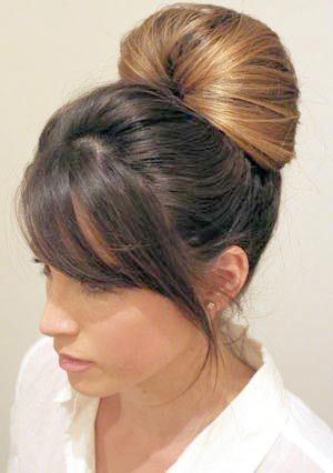 "Some girls think that stylish and sophisticated Classic Bun Hairstyle needs a lot of time and work. But it is not so! Here is one of those hairstyles that are made on the ""one, two, three!"". It does not need special skills and secrets of hairdressing. This hairstyle will help you diversify your style, simple…"