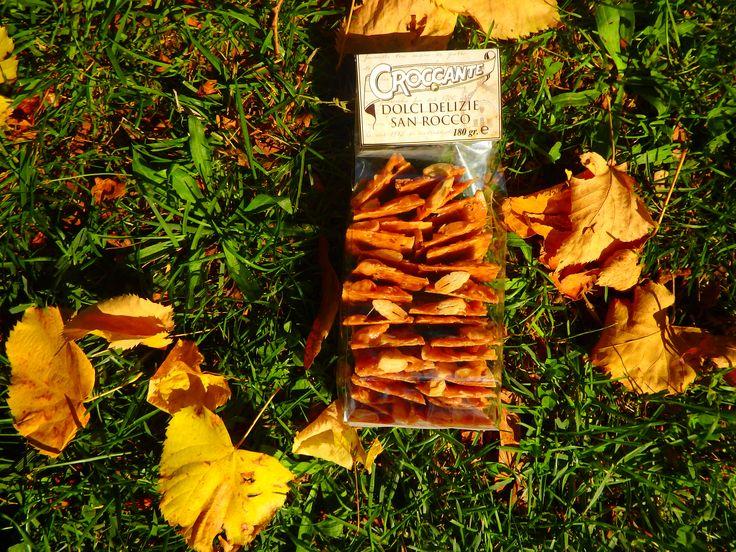 Sacchettini di Croccante alla Mandorla 180gr http://www.croccantedolcidelizie.com/