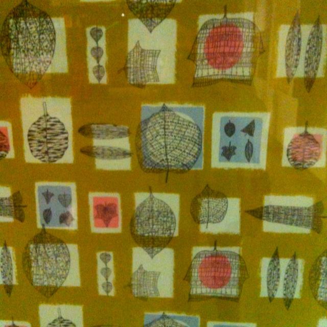 Post war textiles exhibition