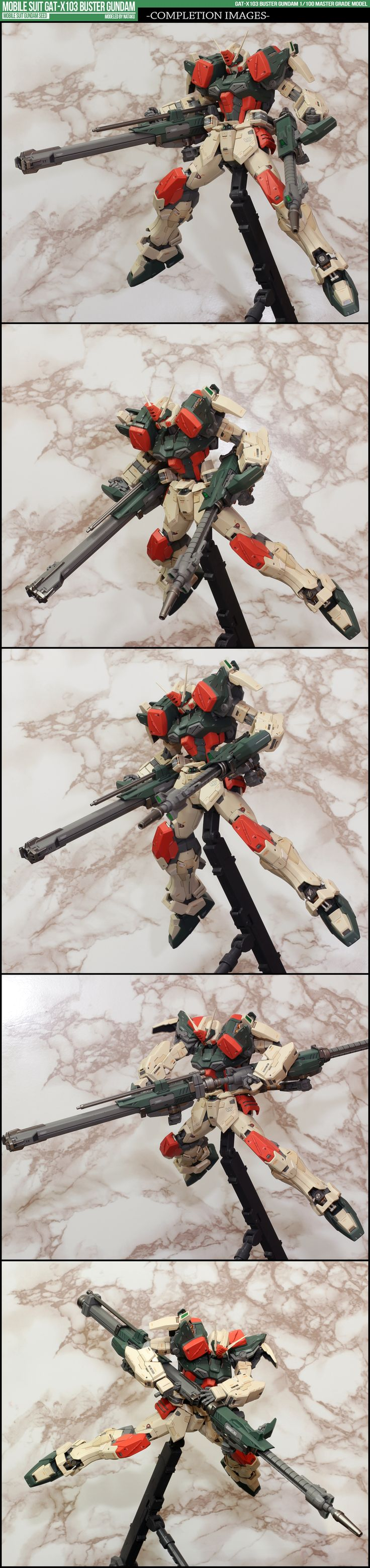 마음속에 네가 비우고간 공간만큼 내 마음이 커질때까지... :: [完成]MG 1/100 GAT-X103 BUSTER GUNDAM - 하아.. 장난 아니다..