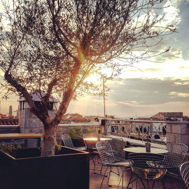 AreosPolis BQ Hotel Roof Top and enjoy the sky!