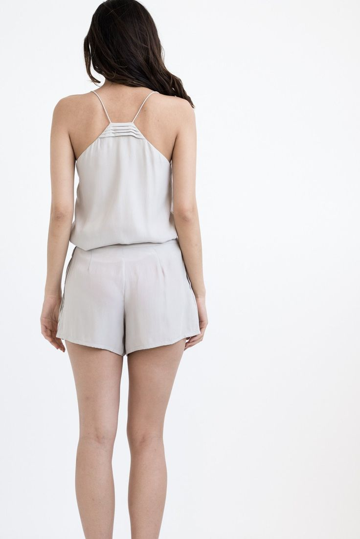 THE OFF DUTY CAMISOLE - IVORY