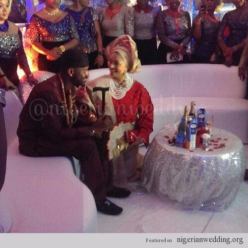 Photo Gallery Nigerian Wedding: Nigerian Wedding: Photos From Lola Omotayo & Peter Okoye's