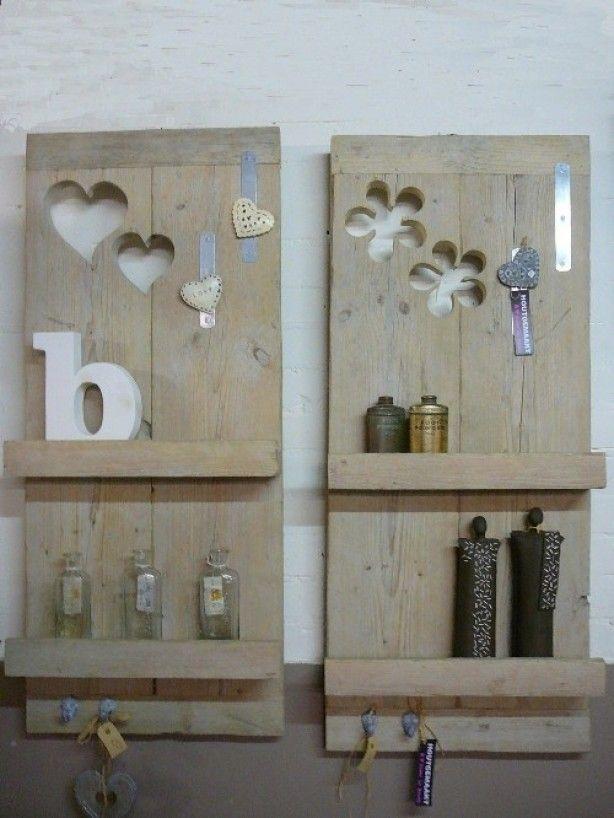 Wandbord hout interieur