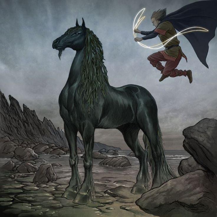 Mythical water horses - photo#15
